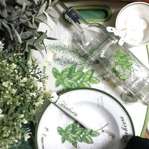 Набор из трех чаш с ложками Herbiers