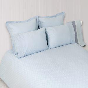 """Комплект постельного белья """"PLOMBIR"""" голубой"""