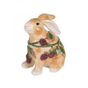 """Банка для печенья """"Кролики в ежевике"""""""