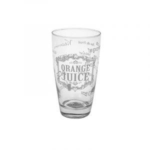 "Высокий стакан для напитков ""WHITE TEXT"" 400 мл."