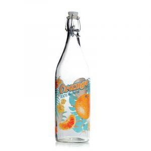 """Бутылка для напитков с закрепленной пробкой """"MAUI"""" 1 л."""