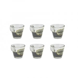 """Набор из 6 чашек для кофе """"RETRO ESPRESSO"""" 80 мл."""
