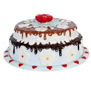 """Блюдо для торта """"ТОРТ"""" 32x15 см."""