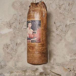 "Груша боксерская декоративная ROCKY ""LOFT ART""  30х30х75 см."