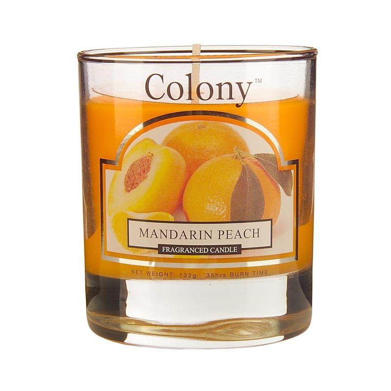 Свеча ароматическая малая в стеклянной банке 370 г