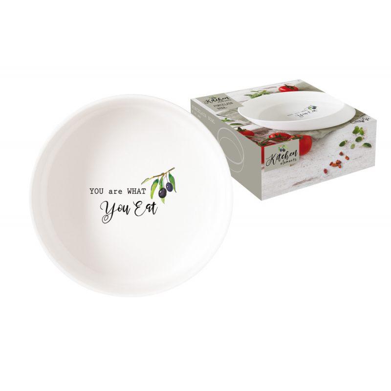 """Чаша-салатник """"Kitchen Elements"""" 16 см в подарочной упаковке"""