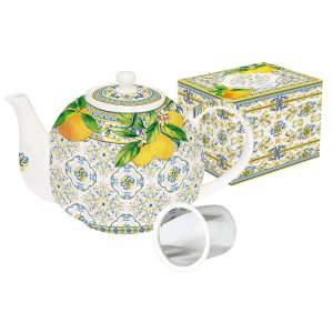 "Чайник с металлическим ситечком ""CAPRI"" 1 л"