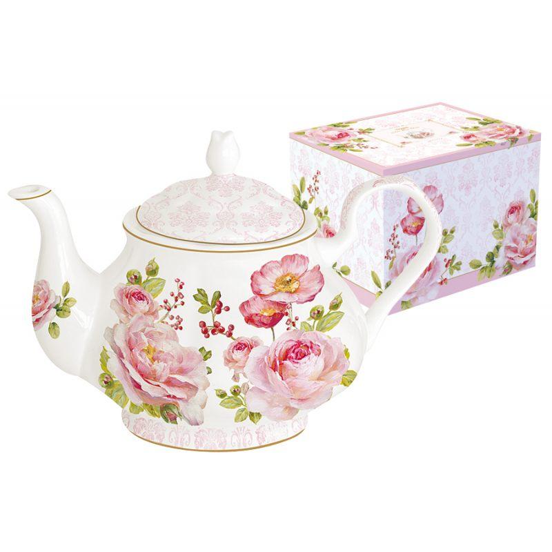 """Чайник """"Дамасская роза"""" 800 мл в подарочной упаковке"""