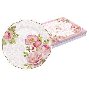 "Тарелка десертная ""Дамасская роза"" 20 см"