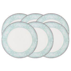 """Набор из 6 обеденных тарелок """"Прикосновение"""" 27 см"""