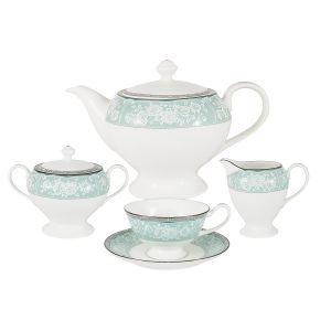 """Чайный сервиз из 17 предметов на 6 персон """"Прикосновение"""""""
