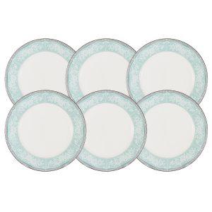 """Набор из 6 десертных тарелок """"Прикосновение"""" 21 см"""
