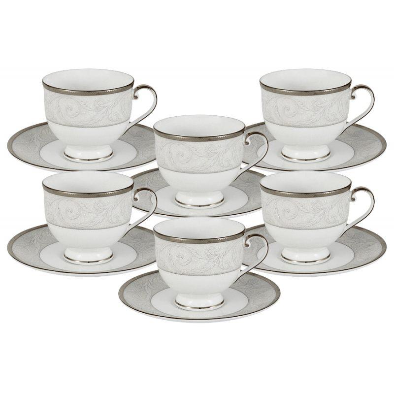 """Набор из 6 чайных пар """"Ноктюрн"""""""
