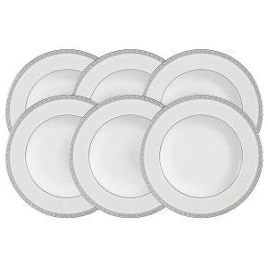 "Набор из 6 суповых тарелок ""Луна"" 23 см"