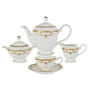 """Чайный сервиз из 17 предметов на 6 персон """"Ожидание"""""""