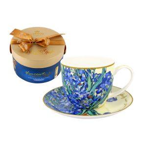 """Чашка с блюдцем """"Великие художники (Ван Гог)"""", в подарочной упаковке 280 мл"""
