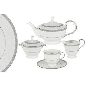 """Чайный сервиз из 17 предметов на 6 персон """"Луна"""""""