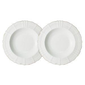 "Набор из 2-х суповых тарелок ""Бьянка"" 23 см"