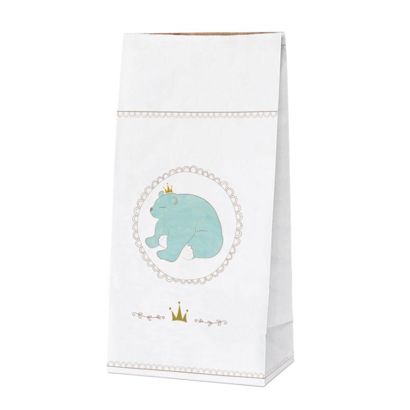 """Крафт-пакет """"Медведь"""" 61 см"""