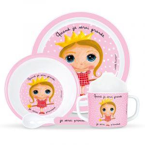 """Набор детской посуды """"Принцесса"""""""
