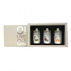 "Набор ""ILIADA Gift Box EV (базилик+апельсин+трюфель)"" 250 мл"