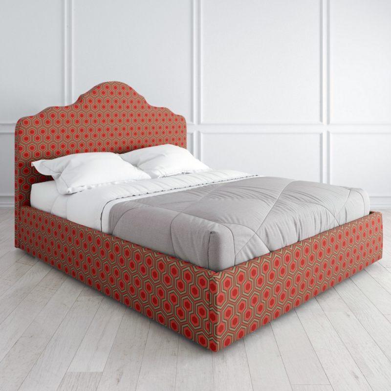 """Кровать с подъёмным механизмом """"Coloris"""" c принтом"""