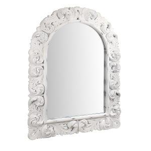 "Зеркало в белой резной раме ""Anuk anuk"""