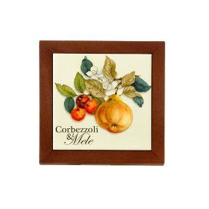 """Подставка под горячее """"Итальянские фрукты"""" 19 см"""