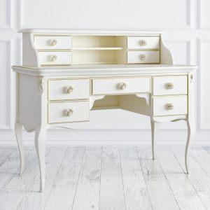 """Кабинетный стол пристенный """"Golden Rose"""""""