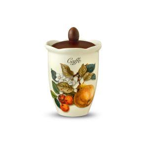 """Банка для сыпучих продуктов (кофе) """"Итальянские фрукты"""" 800 мл"""