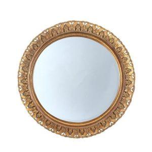"""Зеркало в золотистой раме """"Anuk Anuk"""""""