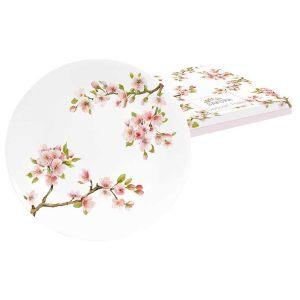 """Тарелка десертная """"Японская сакура"""" в подарочной упаковке 19 см"""