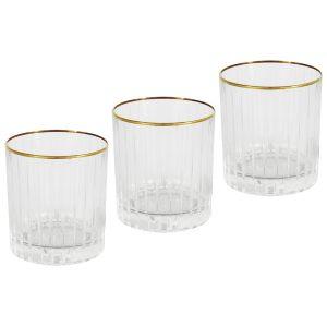 "6 стаканов для виски ""Пиза"" 250 мл"