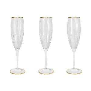 """6 бокалов для шампанского """"Пиза"""" 150 мл"""