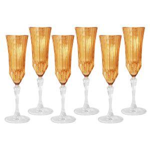 "Набор: 6 бокалов для шампанского ""Адажио"" 150 мл"