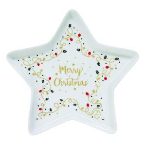 """Блюдо """"Merry Christmas"""" 19,5 см"""