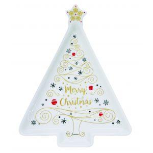 """Блюдо """"Merry Christmas"""" 21 см"""