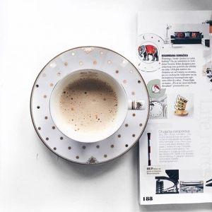Чашка с блюдцем Элеганс-Бабочки
