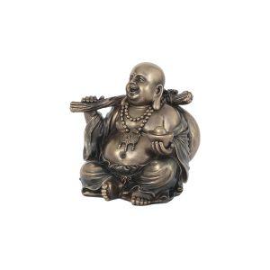 """Статуэтка """"Будда с золотым слитком"""""""