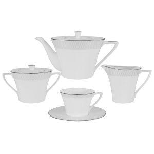 """Чайный сервиз из 17 предметов на 6 персон """"Бриз"""""""