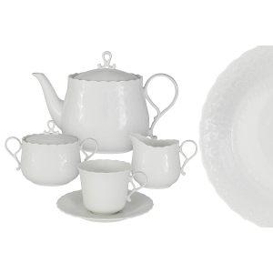 """Чайный сервиз 17 предметов на 6 персон """"Шёлк"""""""