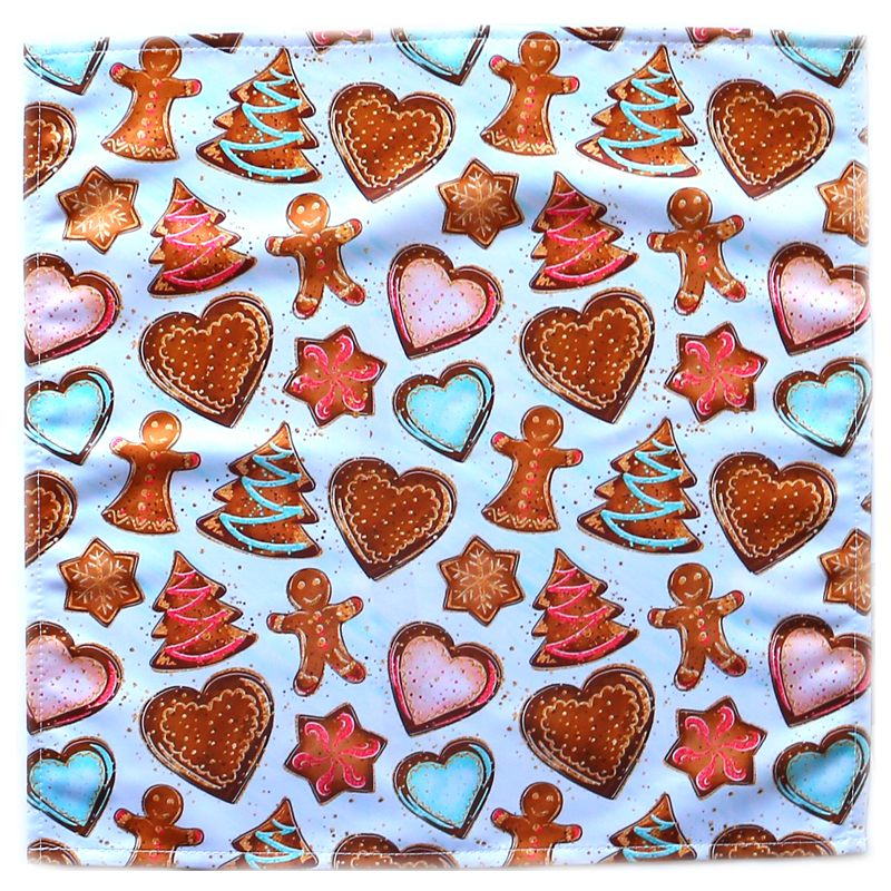 """Салфетка текстильная на стол """"Имбирные пряники. Рождество"""""""