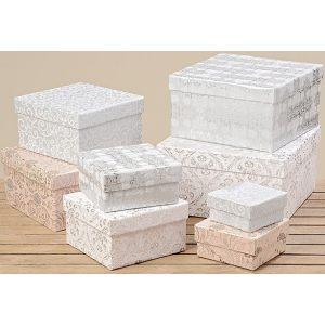 """Набор из 8 декоративных коробок """"Мари"""""""