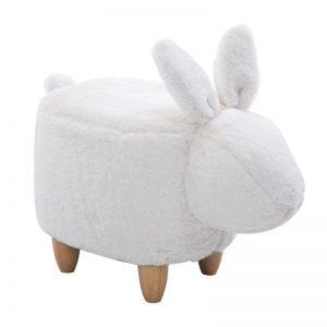 "Пуфик ""Кролик белый"""