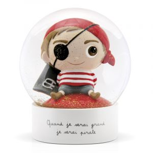 "Снежный шар ""Пират"""