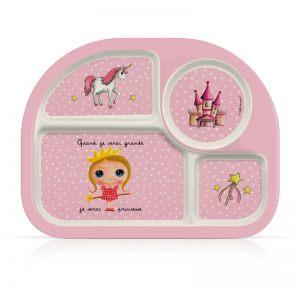 """Тарелка-комплект для кормления детей """"Принцесса"""""""