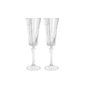 "Набор из 2-х бокалов для шампанского ""Perlato"""
