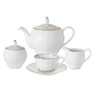 """Чайный сервиз из 15 предметов на 6 персон """"Грация"""""""