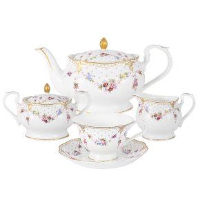 """Чайный сервиз из 15 предметов на 6 персон """"Ла-Рошель"""""""