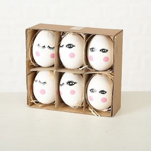 "Набор из 6 декоративных яиц ""Притти"""